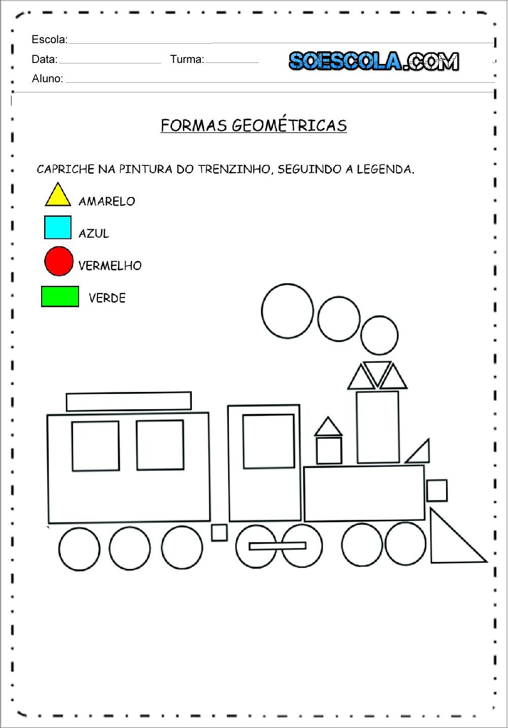 Atividades Formas Geometricas Para Imprimir Baixe Em Pdf Atividades Com Formas Geometricas Formas Geometricas Educacao Infantil Atividades Com Formas