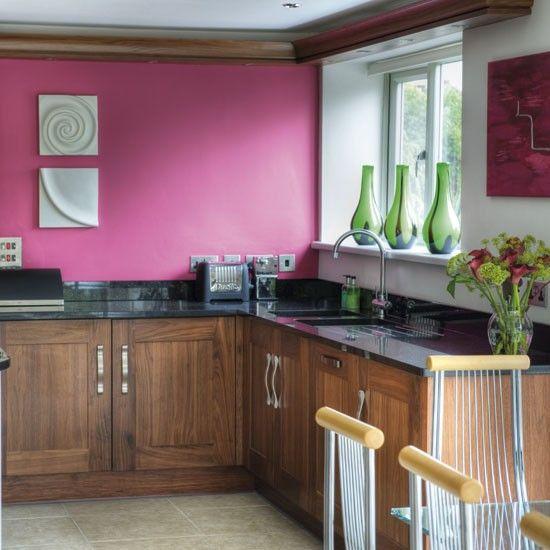raspberry kitchen pink kitchen walls white kitchen decor rustic kitchen decor on kitchen decor pink id=53093