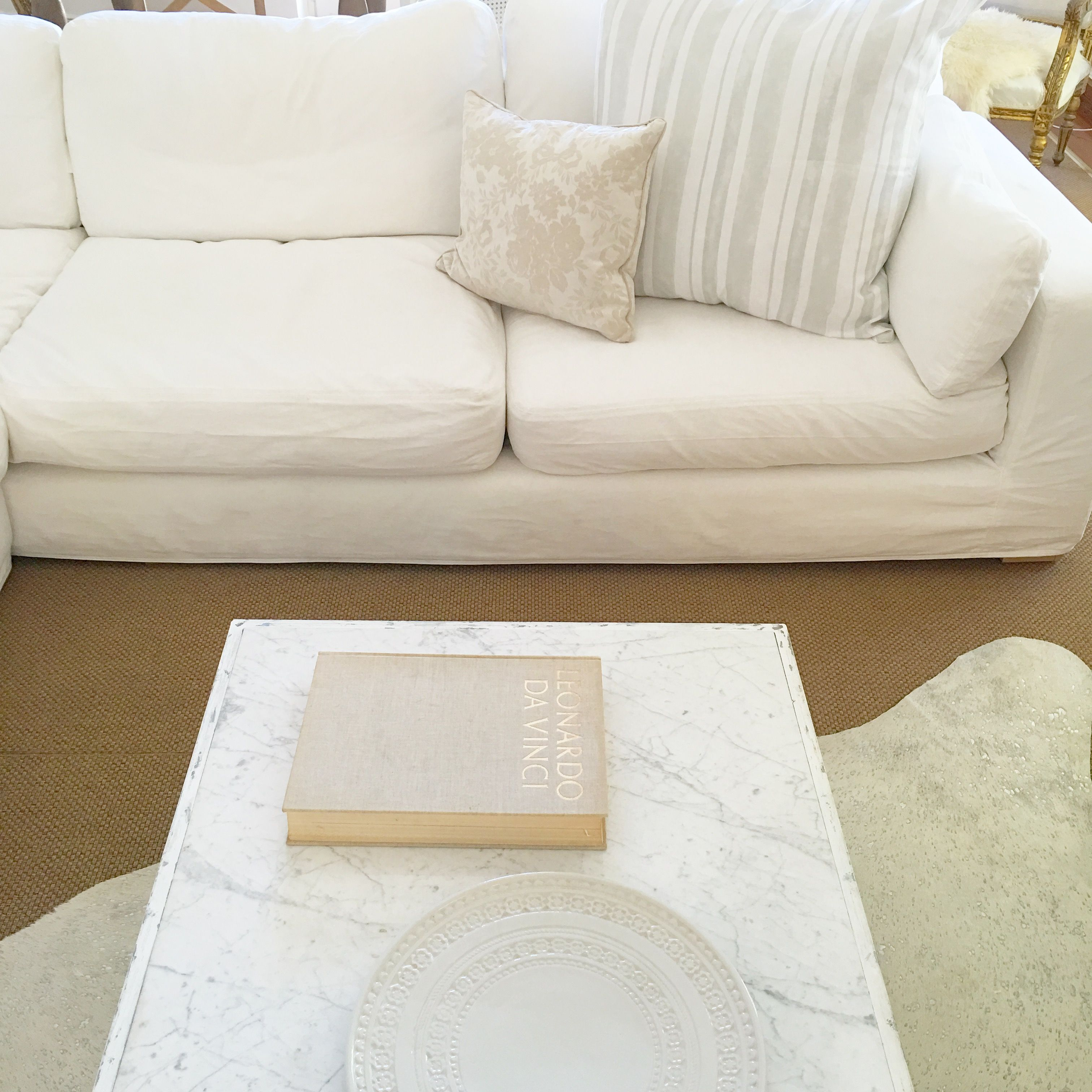 shabby chic couture furniture. SoHo Sectional Sofa Accessorized In All Rachel Ashwell Shabby Chic Couture. Carrara Marble Table Manufactured Couture Furniture O