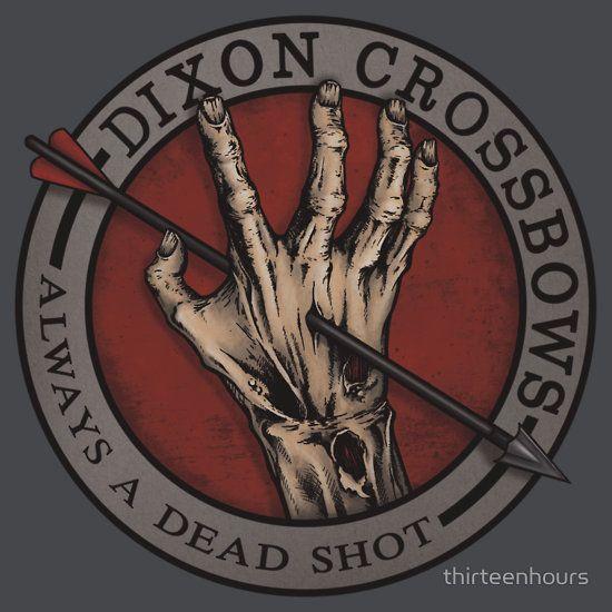 """Dixon Crossbows"" T-Shirts & Hoodies by thirteenhours ..."