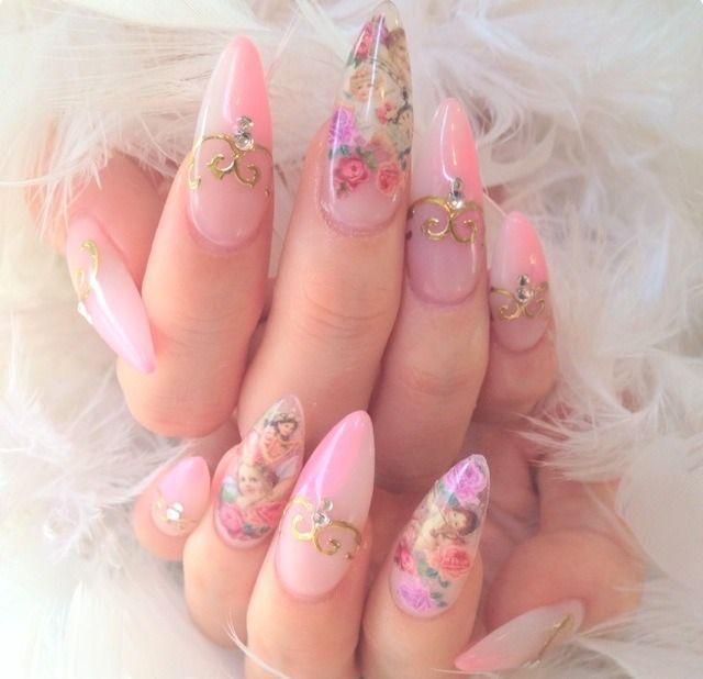 princess | Nail Art | Pinterest | Pretty nails, Makeup and Kawaii nails