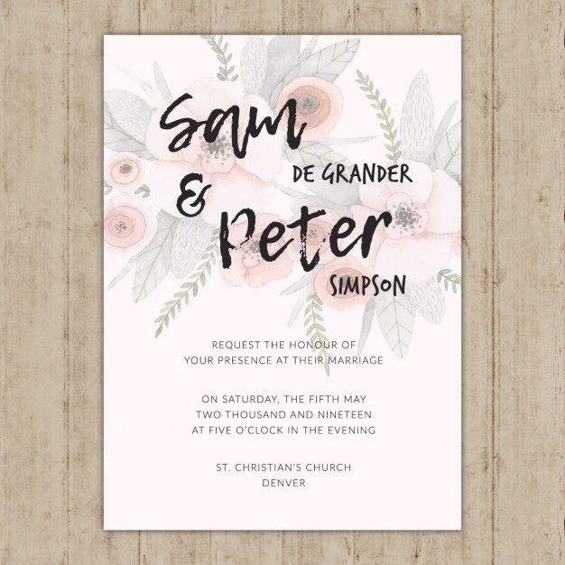 Pin de Cin Torres en Vectores Pinterest Ilustraciones - plantillas para invitaciones gratis