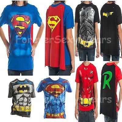 JUSTICE LEAGUE SUPERMAN BATMAN WONDER WOMAN T-SHIRT MENS BLUE DC COMICS TEE