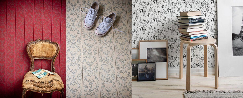 Rullo per decorare le pareti in stile shabby chic FOTO e