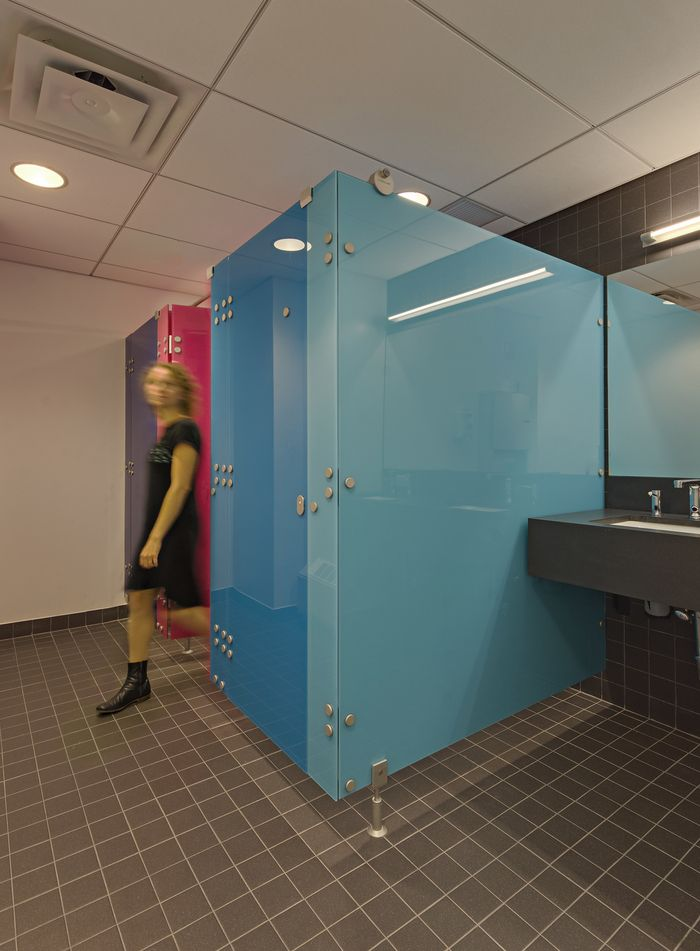 Office Tour Varonis Offices Phase New York City Office - Bathroom partitions nyc