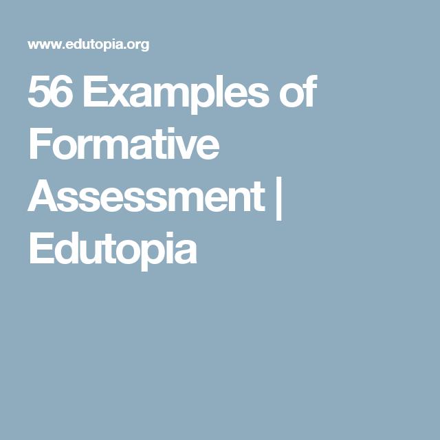 56 Examples of Formative Assessment | Edutopia