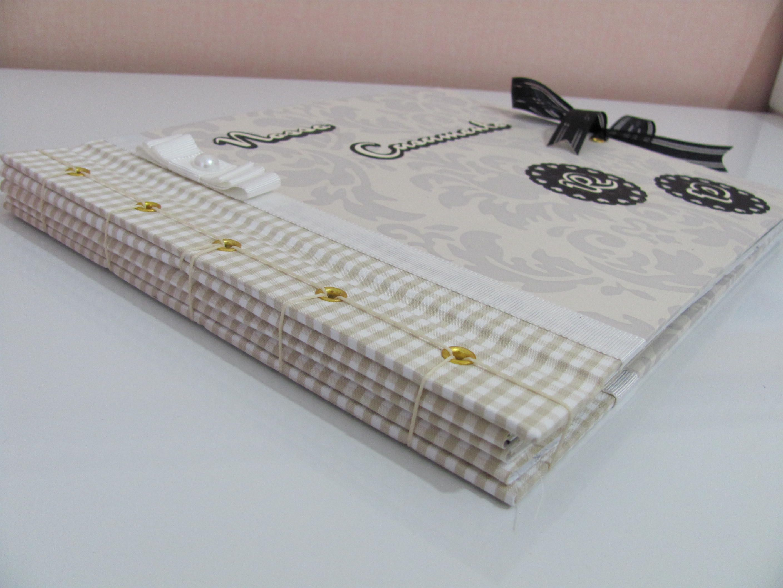 Álbum de Casamento Artesanal: imagine que lindo, um álbum assinado por seus convidados com fotos suas e do seu amor?