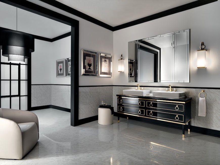 Salone del Mobile Oasis Presents Exclusive Art Deco Bathroom