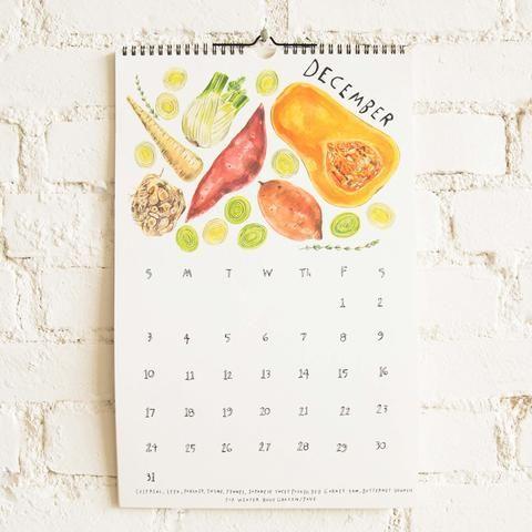 Seasonal Produce Calendar by Maria Schoettler