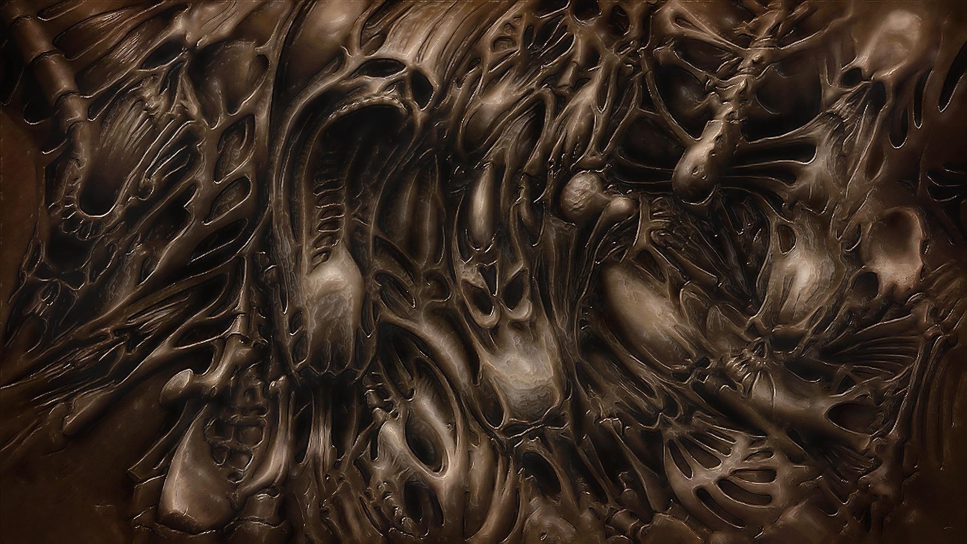 Download This Awesome Wallpaper Hr Giger Art Doom Stoner Rock