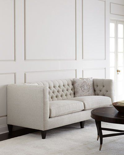 H8s5w Bernhardt Brooks Tufted Sofa With Images Tufted Sofa Furniture Sofa Design