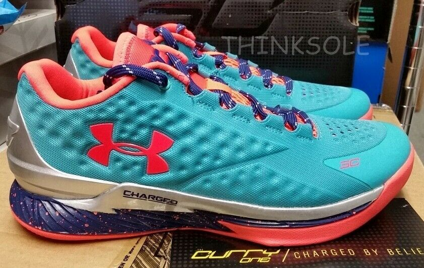f1777a9dae1c UNDER ARMOUR STEPHEN CURRY 1 LOW SELECT CAMP 1276195-389 GOLDEN STATE  WARRIORS - Curry 4 Shoes - Latest Curry 4 Shoes -  curry  curryshoes   curry30shoes - 0 ...