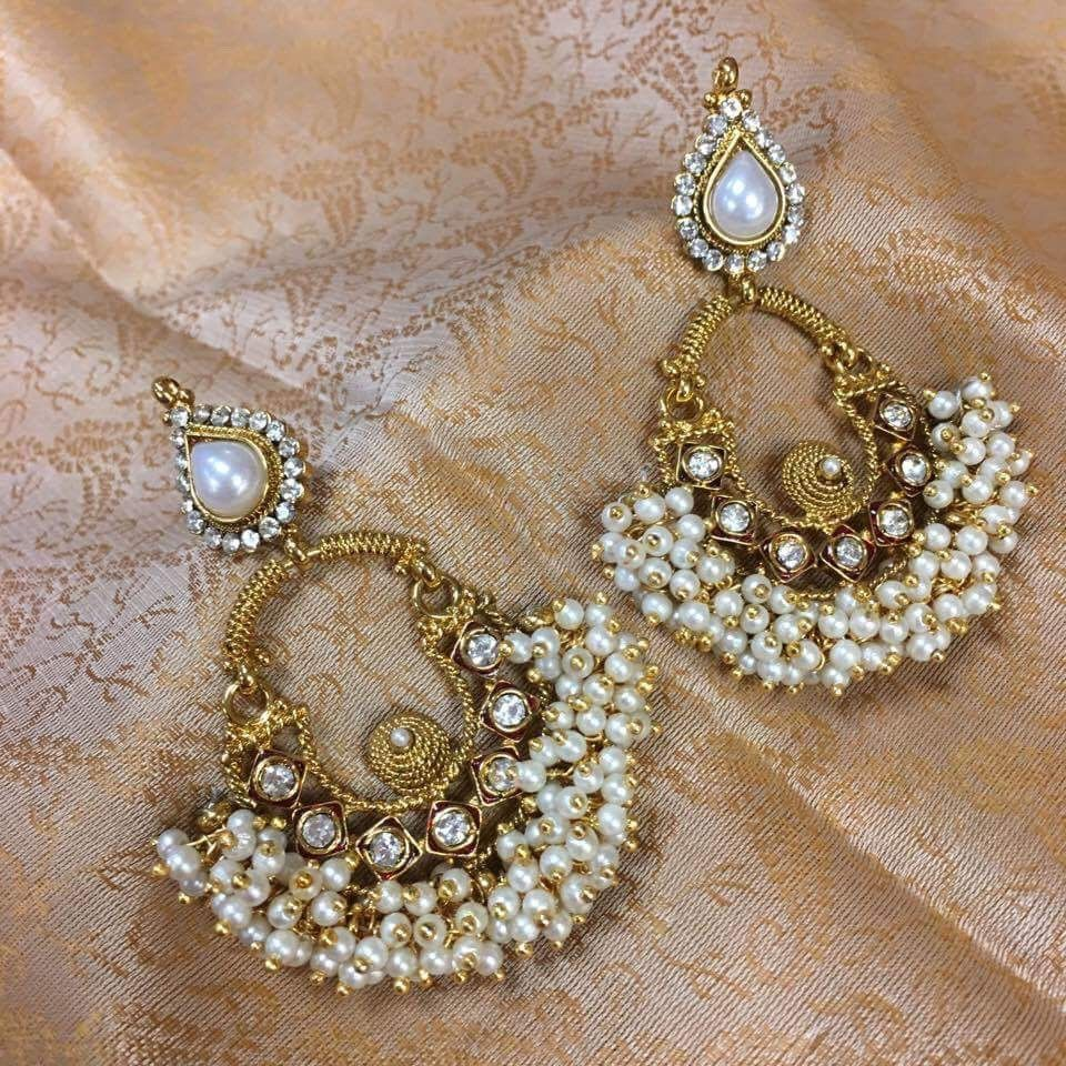 stud gold earring spargz laxmi antique product plated coin buy