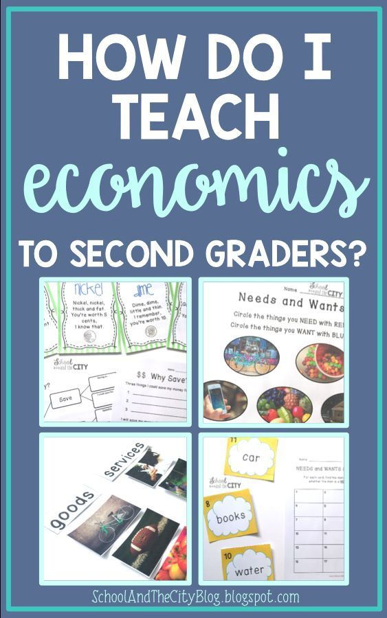 How Do I Teach ECONOMICS to 2nd Graders? | Pinterest | Social ...