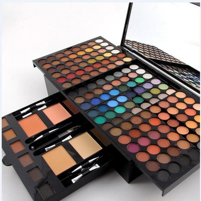 Eye Shadow Able Miss Rose Pro Makeup Palette 36 Color Matte Eyeshadow Palette Bright Shimmer Eye Shadow Metallic Pigment Nude Smoky Cosmetic Kit