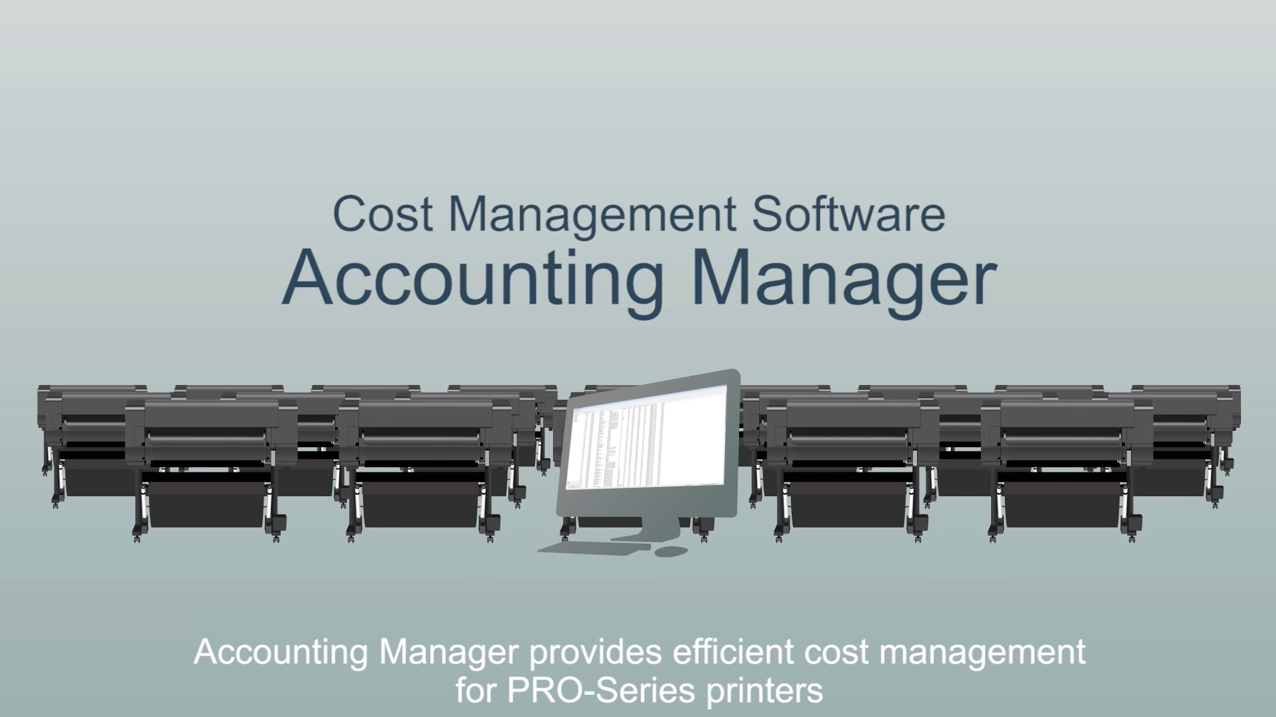 Keep track of every printing cost efficiently with Canon's