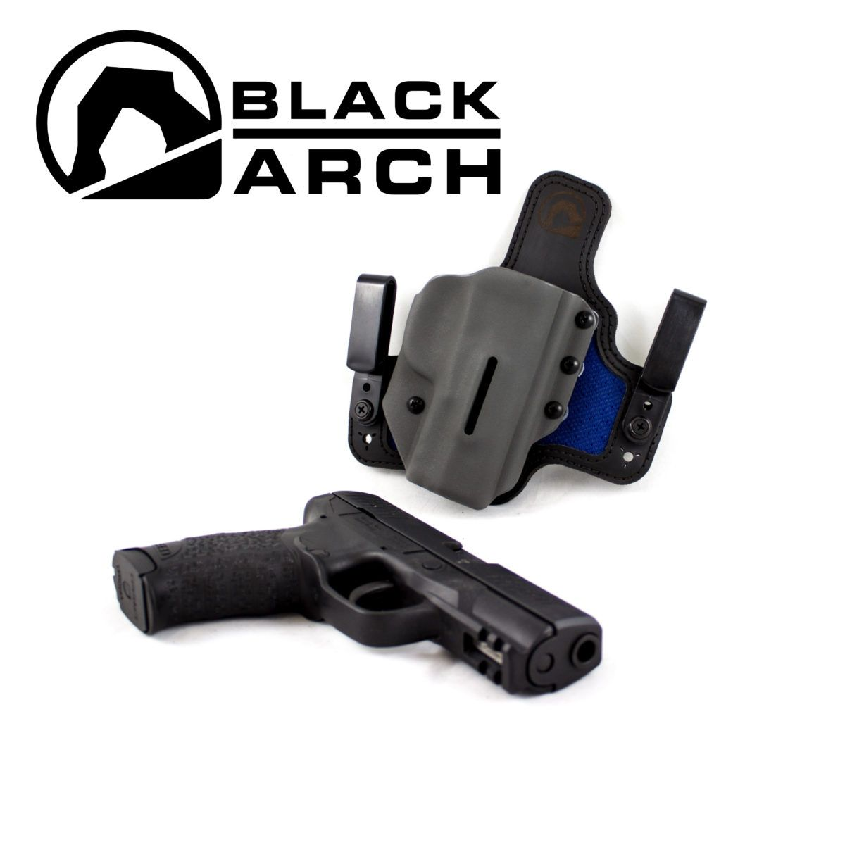 Black Arch Hybrid Holsters with Dri-Matrix Backers