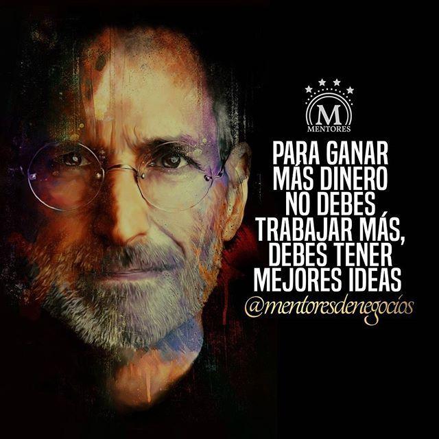 Hay que tener mejores ideas #Mentores