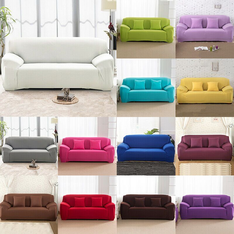 1 2 3 4 Seater Stretch Chair Sofa Cover Slipcover Couch Loose Covers Elastic Sofa Slipcover Ideas Of Sofa Slipcover Sof In 2020 Slip Covers Couch Sofa Sofa Covers