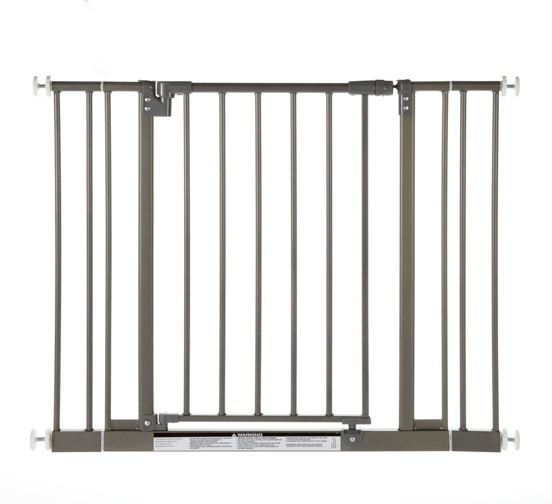 North States Industries Supergate Easy Close Metal Gate Burnished