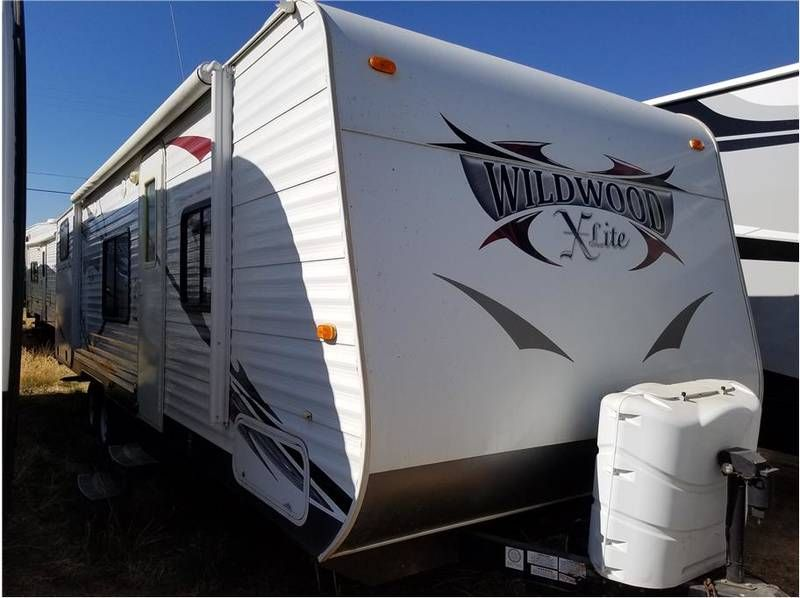 2013 Forest River Wildwood 281qbql For Sale Madera Ca Rvt Com