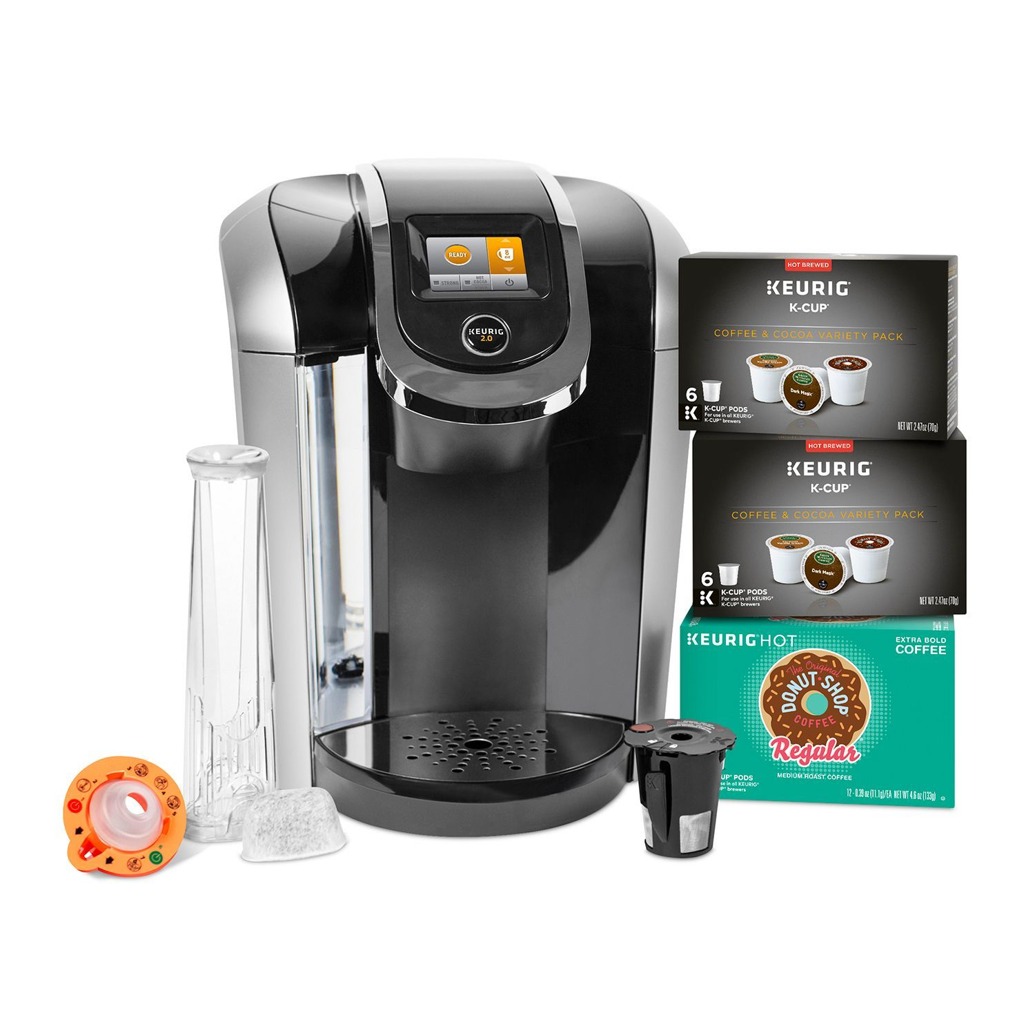 Keurig K425S Coffee Maker with 24 KCup Pods and Reusable