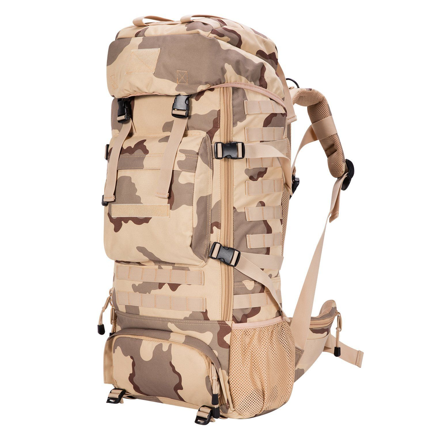 Gonex Military Molle Backpack 900D Oxford Waterproof Tactical Hiking ...