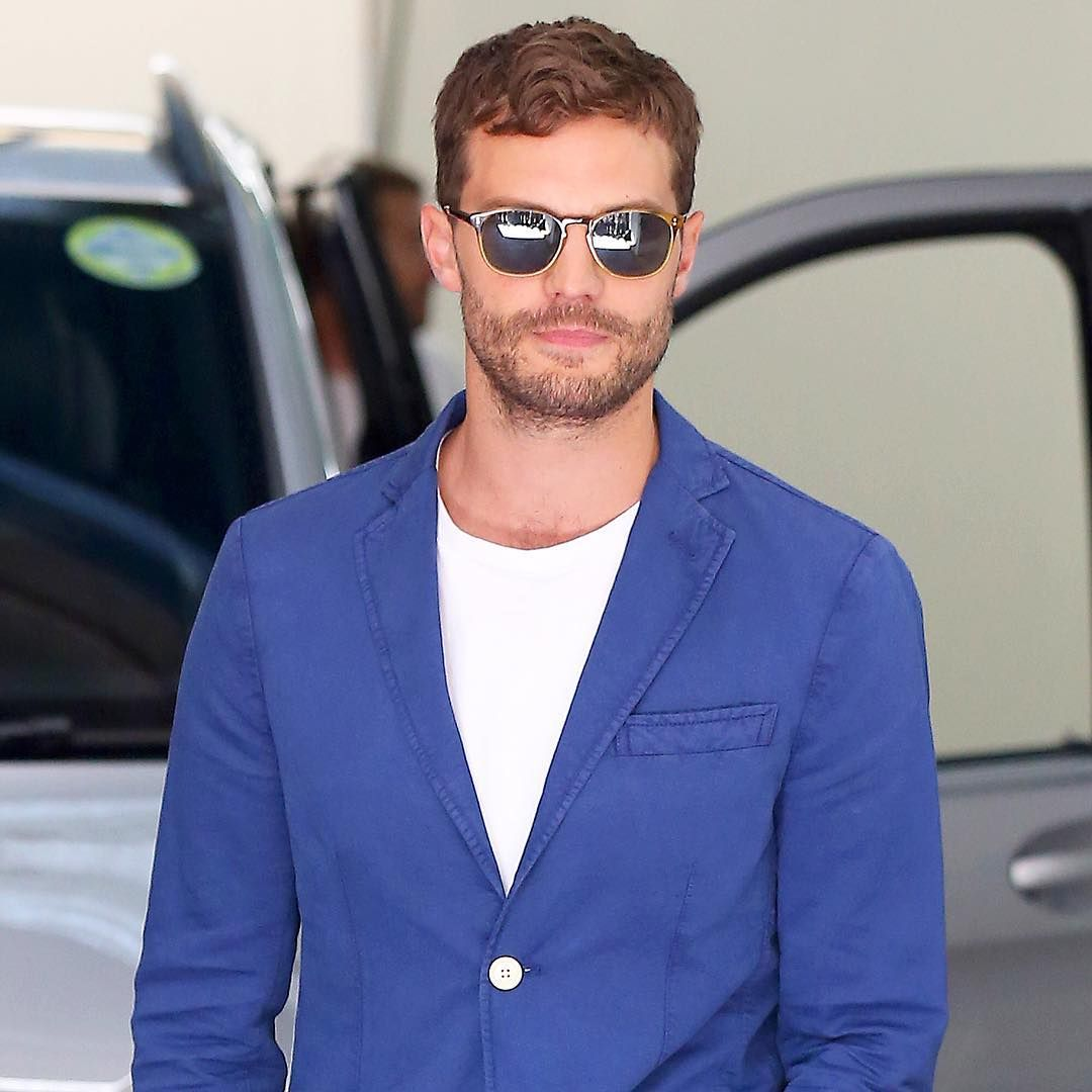 Jamie Dornan looked so good out and about in London.