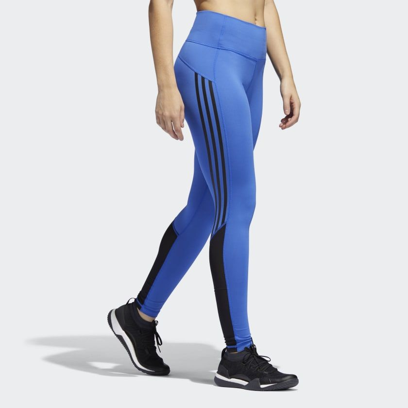 801135c3e3 Believe This High-Rise 3-Stripes 7/8 Tights | Comfortable outfits ...