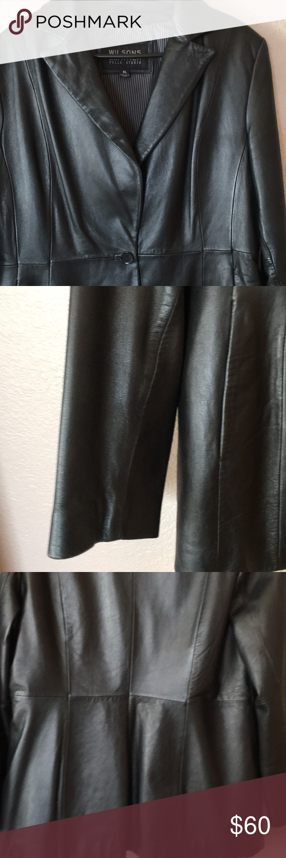 Wilson's Leather Pelle Studio Jacket (With images