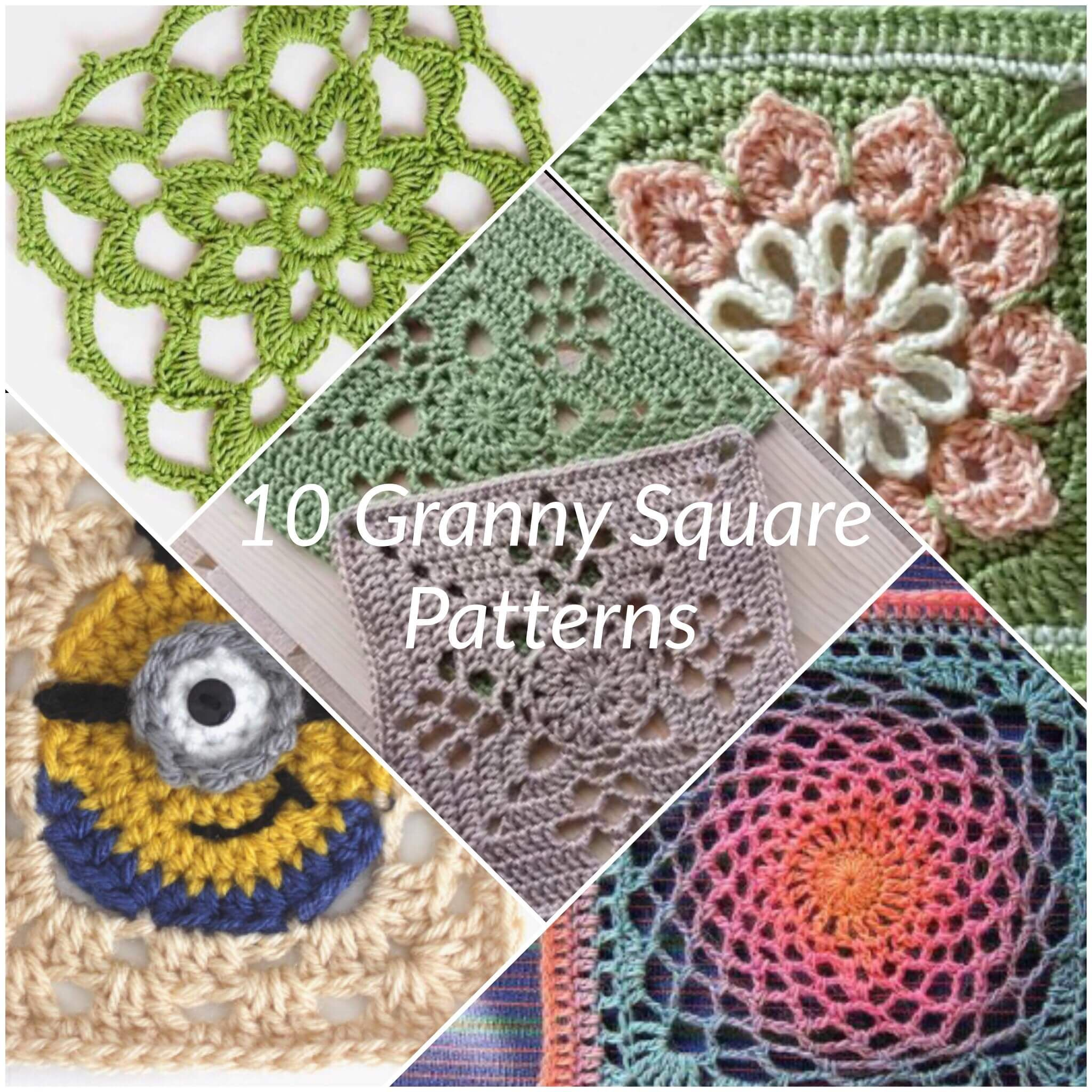 10 fun crochet granny square patterns one of the best things about 10 fun crochet granny square patterns one of the best things about granny squares is that bankloansurffo Images
