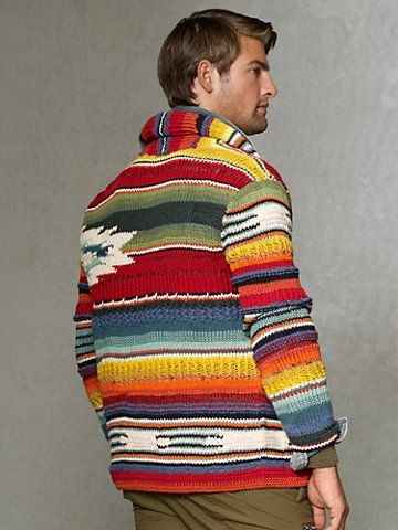 40194291 Shawl-Collar Serape Cardigan - Cardigan & Full-Zip Sweaters ...