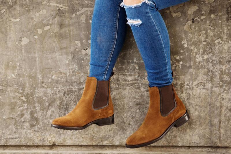 Duchess | Cognac Suede | Chelsea boots