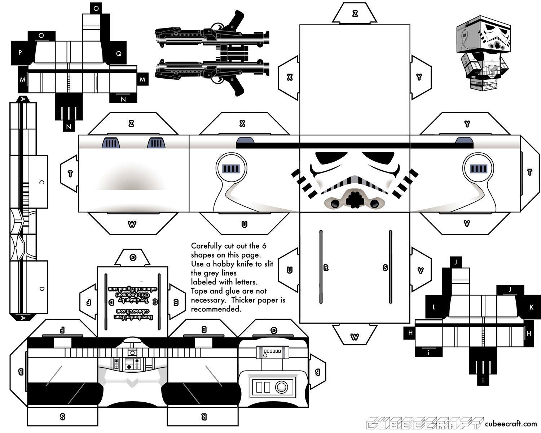 Cubeecraft, muñecos de papel fáciles de armar! + Yapa | Inspiración ...