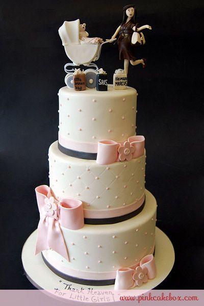 Shopping mommy baby shower cake custom baby shower cakes shopping mommy baby shower cake by pink cake box in denville nj more photos negle Gallery