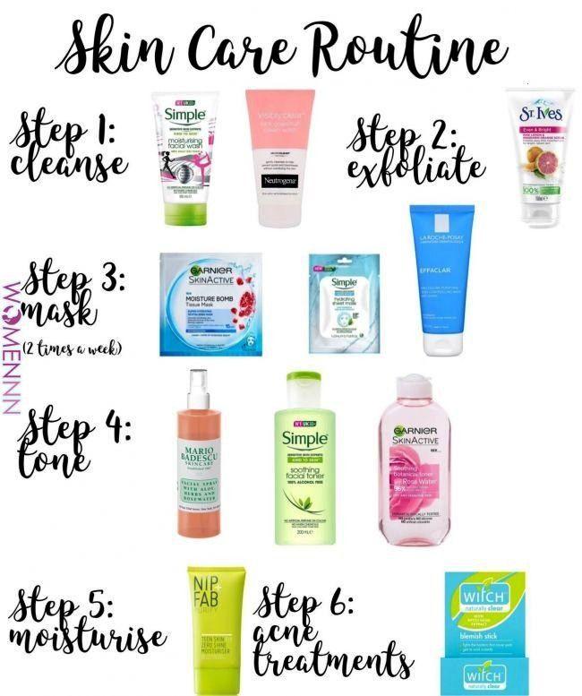 care routine  Skin care in 2019  Pinterest  Skin Care Healthy skin care and Skin Care Tips  WomennnSkin care routine  Skin care in 2019  Pinterest  Skin Care Healthy skin...