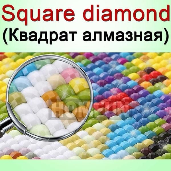 Photo of HOMFUN DIY PHOTO CUSTOM Diamond Painting Picture of Rhinestones Diamond Embroidery Beadwork 5D Cross Stitch 5D Home Decor|round drill|5d diy diamond5d diy – Square Drill / 50x120cm