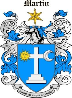 The Martin Family Page Family Crest Interesting History Heraldry