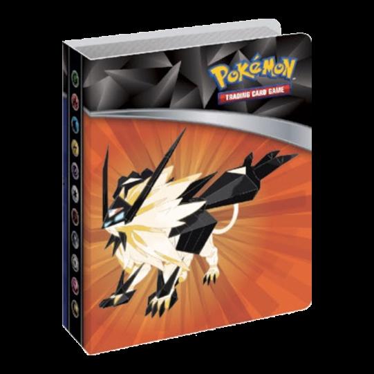 Pokemon Sun & Moon 5 Ultra Prism Solgaleo Mini Portfolio