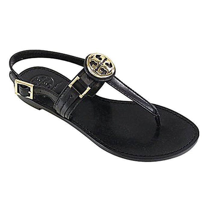 d04d9d1ed783 Tory Burch Cassia Flat Thong Sandal French Calf Leather
