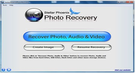 This recovery tool helps in the recovery of lost photo and video from Sanyo Camera.
