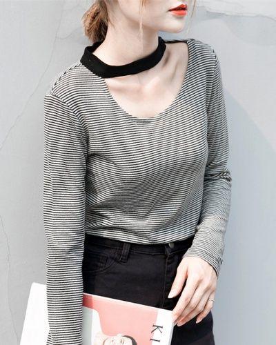 Keyhole shirt sexy