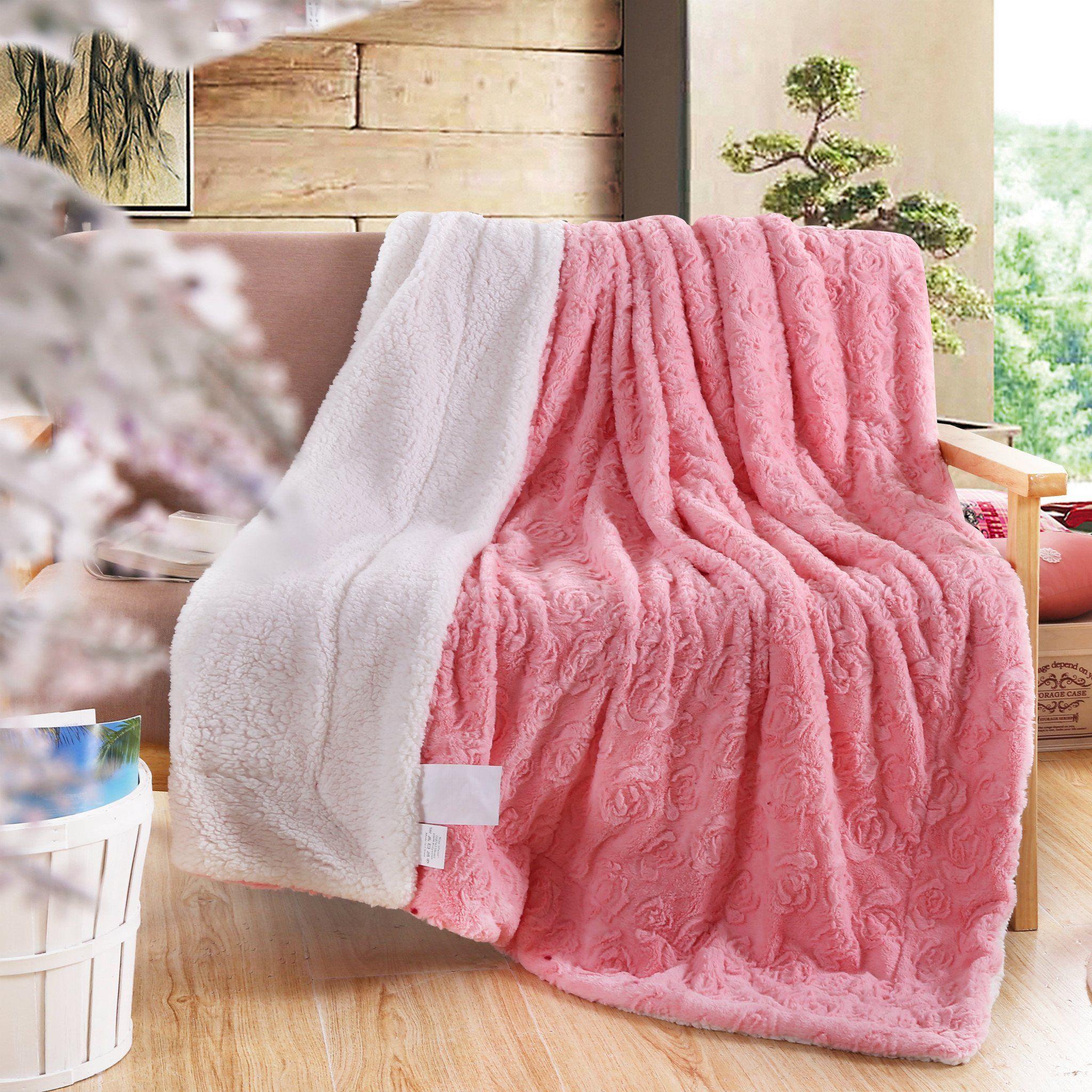 Rosey Star Blanket