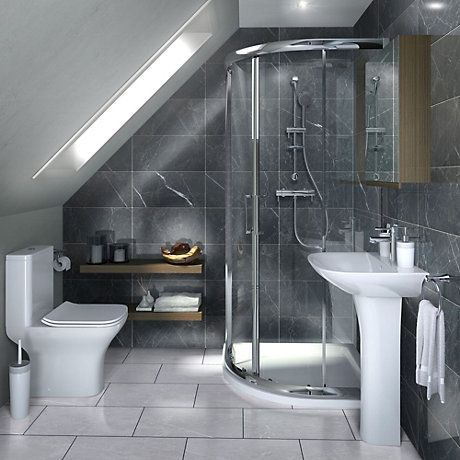 Bathroom Suites | Complete Bathroom Suites | DIY at B&Q ...