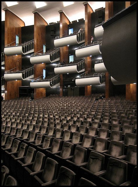 Archdaily Broadcasting Architecture Worldwide Auditorium Architecture Auditorium Design Architecture