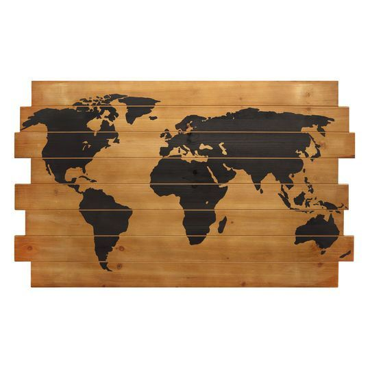 Home Accents Home Decor Michaels Stores Wood World Map Wood