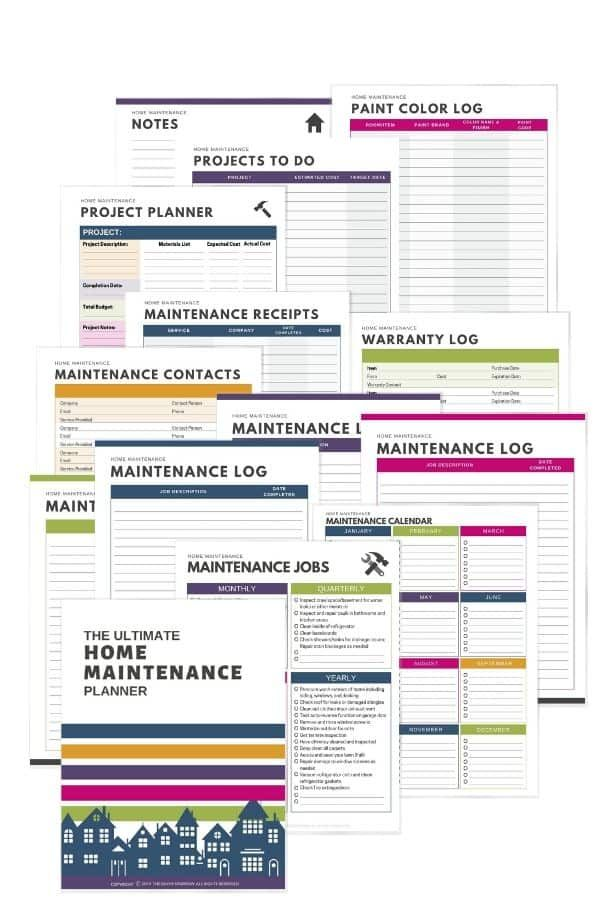 Photo of The ULTIMATE Home Maintenance Planner – Instant Download
