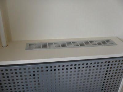 Ikea hackers bedroom radiator cover cache radiateur - Cache radiateur ikea ...
