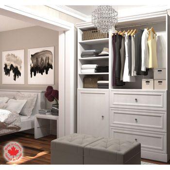 Costco: Bestar   Organize It   Cacher Closet   White