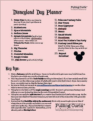 Photo of Disneyland Planning: What to do with your day